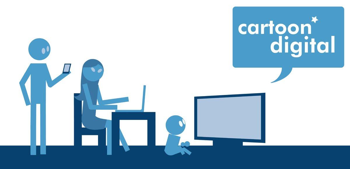 Cartoon digital